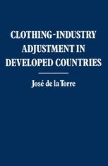 Clothing-industry Adjustment in Developed Countries