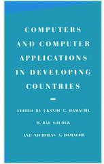 Computers and Computer Applications in Developing Countries