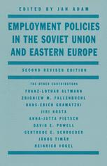 Employment Policies in the Soviet Union and Eastern Europe