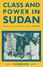 Class and Power in Sudan