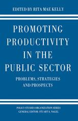 Promoting Productivity in the Public Sector