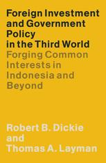 Foreign Investment and Government Policy in the Third World