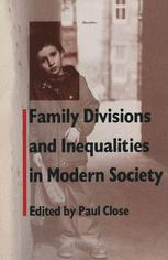 Family Divisions and Inequalities in Modern Society