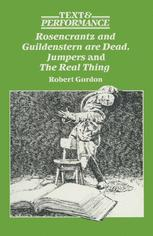 Rosencrantz and Guildenstern are Dead, Jumpers and The Real Thing