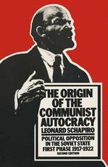 The Origin of the Communist Autocracy