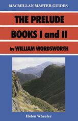 The Prelude Books I and II by William Wordsworth