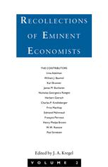 Recollections of Eminent Economists