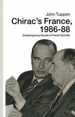 Chirac's France, 1986–88