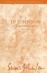 A Dr Johnson Chronology