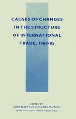 Causes of Changes in the Structure of International Trade, 1960–85
