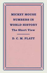 Mickey Mouse Numbers in World History