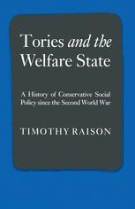Tories and the Welfare State