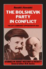 The Bolshevik Party in Conflict