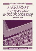 Elementary Exercises in Word Processing