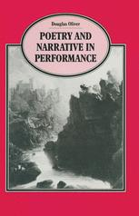 Poetry and Narrative in Performance
