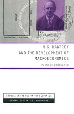 R. G. Hawtrey and the Development of Macroeconomics