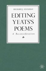 Editing Yeats's Poems