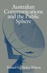 Australian Communications and the Public Sphere