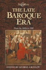 The Late Baroque Era