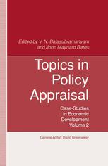 Topics in Policy Appraisal