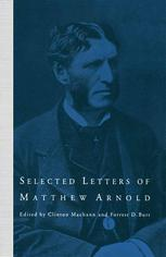 Selected Letters of Matthew Arnold