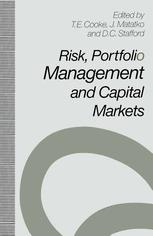 Risk, Portfolio Management and Capital Markets