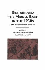 Britain and the Middle East in the 1930s