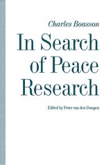 In Search of Peace Research