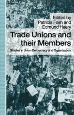 Trade Unions and their Members