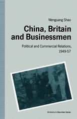 China, Britain and Businessmen
