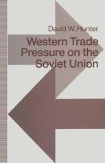 Western Trade Pressure on the Soviet Union