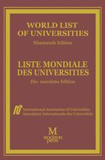 World List of Universities / Liste Mondiale des Universites