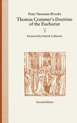 Thomas Cranmer's Doctrine of the Eucharist
