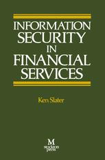 Information Security in Financial Services