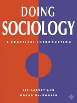 Doing Sociology