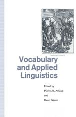 Vocabulary and Applied Linguistics