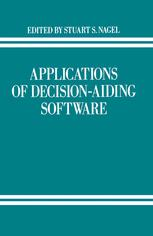 Applications of Decision-Aiding Software