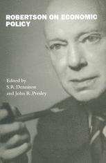 Robertson on Economic Policy