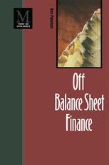 Off Balance Sheet Finance