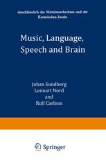 Music, Language, Speech and Brain