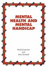 Mental Health And Mental Handicap