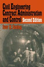 Civil Engineering Contract Administration and Control