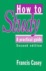 How to Study: A Practical Guide