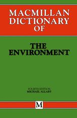 Macmillan Dictionary of the Environment