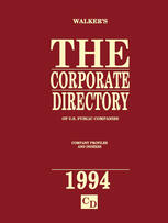 The Corporate Directory of U.S. Public Companies