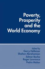 Poverty, Prosperity and the World Economy