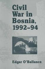 Civil War in Bosnia 1992–94