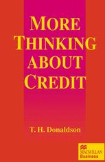 More Thinking about Credit