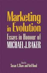 Marketing in Evolution