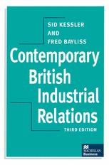 Contemporary British Industrial Relations